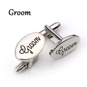 Grooms Bridal Party Cuff Links
